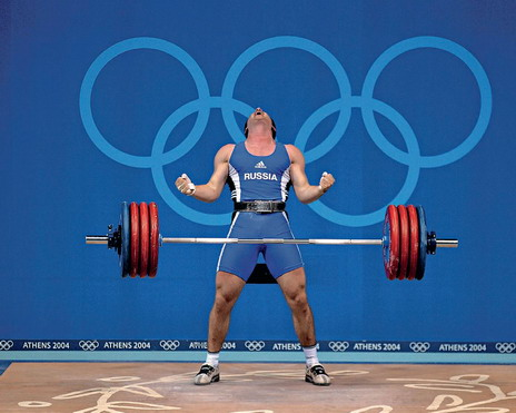 Призер олимпиады 2004 в афинах в